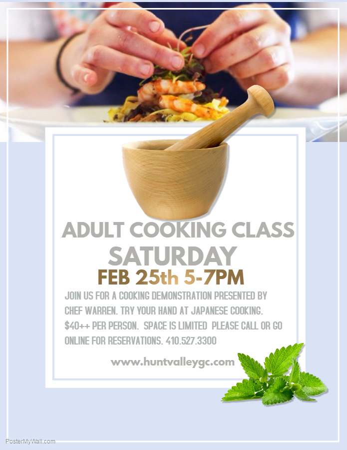 Adult Cooking Class 28