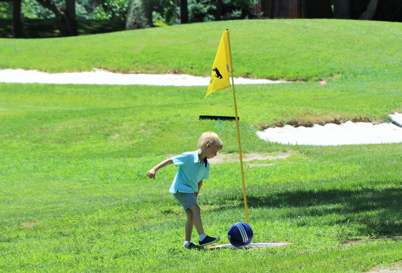 Footgolf at Hunt Valley